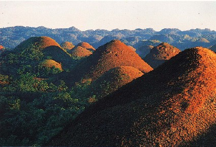 Le Chocolate Hills