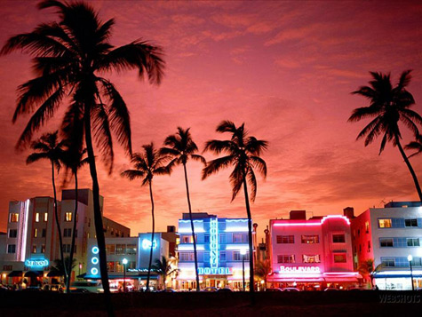 Miami - Tramonto a South Beach