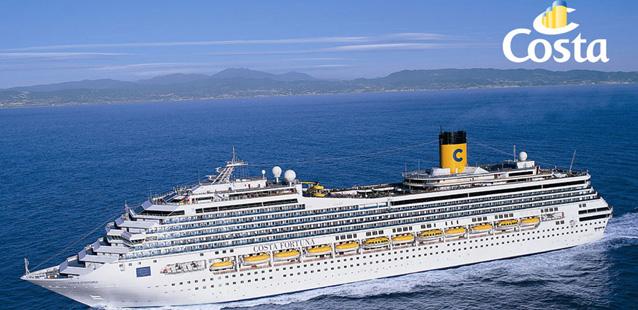 Offerte costa crociere agenzia chianti for Cabina interna su una nave da crociera